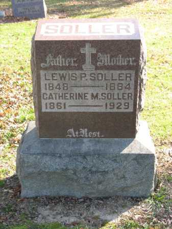 SOLLER, CATHERINE M. - Muskingum County, Ohio | CATHERINE M. SOLLER - Ohio Gravestone Photos