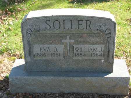 SOLLER, EVA D. - Muskingum County, Ohio | EVA D. SOLLER - Ohio Gravestone Photos