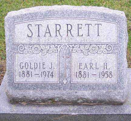 STARRETT, GOLDIE J. - Muskingum County, Ohio | GOLDIE J. STARRETT - Ohio Gravestone Photos