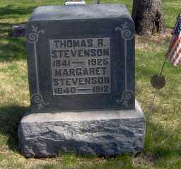 STEVENSON, THOMAS R - Muskingum County, Ohio | THOMAS R STEVENSON - Ohio Gravestone Photos