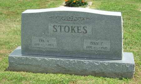 STOKES, EVA A - Muskingum County, Ohio | EVA A STOKES - Ohio Gravestone Photos