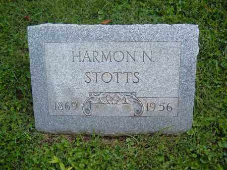 STOTTS, HARMON N - Muskingum County, Ohio | HARMON N STOTTS - Ohio Gravestone Photos