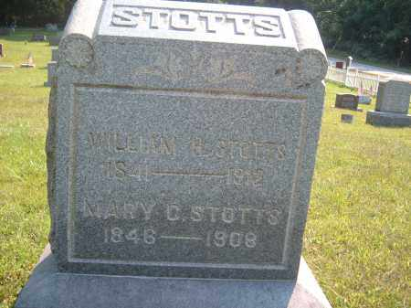 STOTTS, MARY C. - Muskingum County, Ohio | MARY C. STOTTS - Ohio Gravestone Photos