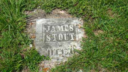 STOUT, JAMES - Muskingum County, Ohio | JAMES STOUT - Ohio Gravestone Photos