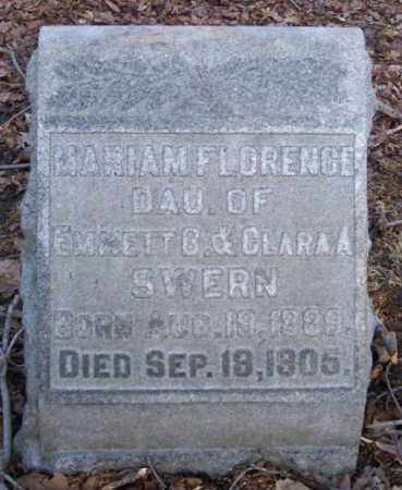 SWERN, MARIAM FLORENCE - Muskingum County, Ohio | MARIAM FLORENCE SWERN - Ohio Gravestone Photos