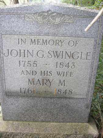 SWINGLE, MARY MAGDALENA - Muskingum County, Ohio | MARY MAGDALENA SWINGLE - Ohio Gravestone Photos