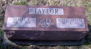 TAYLOR, BETTY ARDREY - Muskingum County, Ohio | BETTY ARDREY TAYLOR - Ohio Gravestone Photos