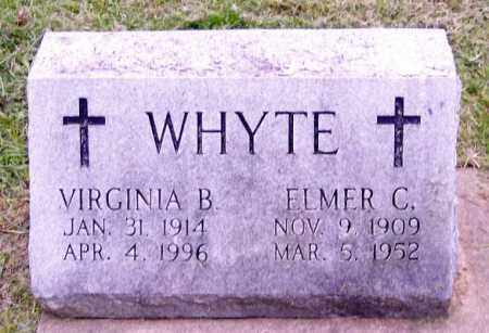 WHYTE, VIRGINIA B. - Muskingum County, Ohio | VIRGINIA B. WHYTE - Ohio Gravestone Photos
