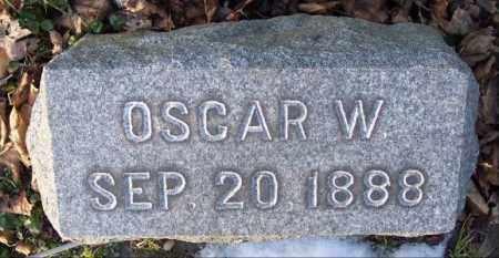 WILEY, OSCAR W. - Muskingum County, Ohio | OSCAR W. WILEY - Ohio Gravestone Photos