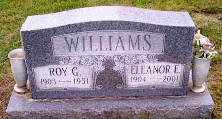 WILLIAMS, ROY G. - Muskingum County, Ohio | ROY G. WILLIAMS - Ohio Gravestone Photos