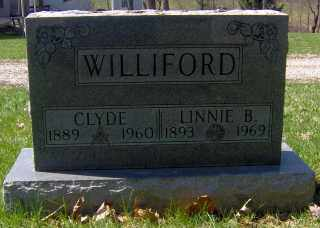 WILLIFORD, LINNIE B - Muskingum County, Ohio | LINNIE B WILLIFORD - Ohio Gravestone Photos