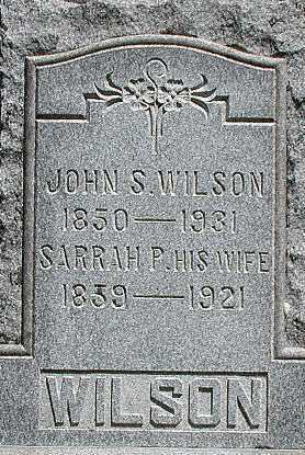 WILSON, JOHN - Muskingum County, Ohio | JOHN WILSON - Ohio Gravestone Photos