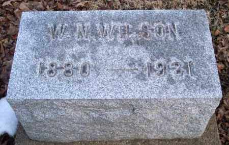 WILSON, W. N. - Muskingum County, Ohio | W. N. WILSON - Ohio Gravestone Photos