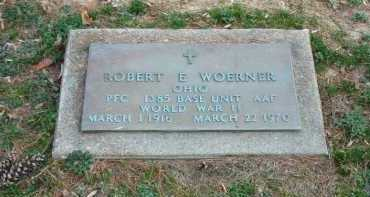 WOERNER, ROBERT E. - Muskingum County, Ohio | ROBERT E. WOERNER - Ohio Gravestone Photos
