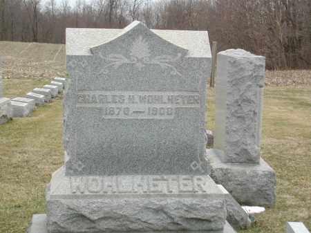 WOHLHETER, CHARLES M - Muskingum County, Ohio | CHARLES M WOHLHETER - Ohio Gravestone Photos