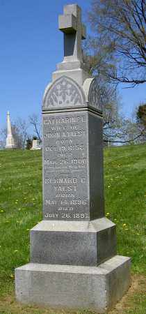 YAEST, CATHARINE E. - Muskingum County, Ohio | CATHARINE E. YAEST - Ohio Gravestone Photos
