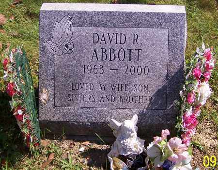 ABBOTT, DAVID R. - Noble County, Ohio | DAVID R. ABBOTT - Ohio Gravestone Photos