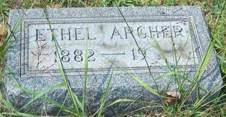 ARCHER, ETHEL - Noble County, Ohio | ETHEL ARCHER - Ohio Gravestone Photos
