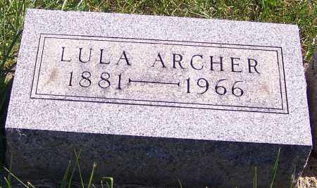 ARCHER, LULA - Noble County, Ohio | LULA ARCHER - Ohio Gravestone Photos