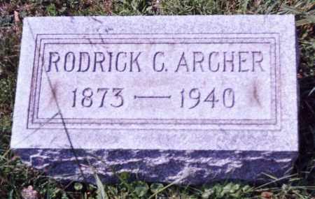 ARCHER, RODRICK C. - Noble County, Ohio | RODRICK C. ARCHER - Ohio Gravestone Photos