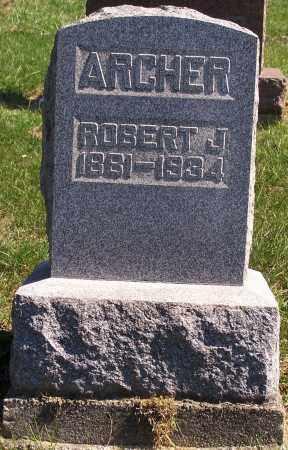 ARCHER, ROBERT J. - Noble County, Ohio | ROBERT J. ARCHER - Ohio Gravestone Photos