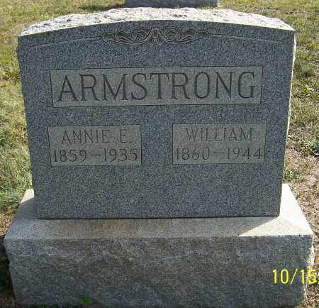 ARMSTRONG, WILLIAM - Noble County, Ohio | WILLIAM ARMSTRONG - Ohio Gravestone Photos