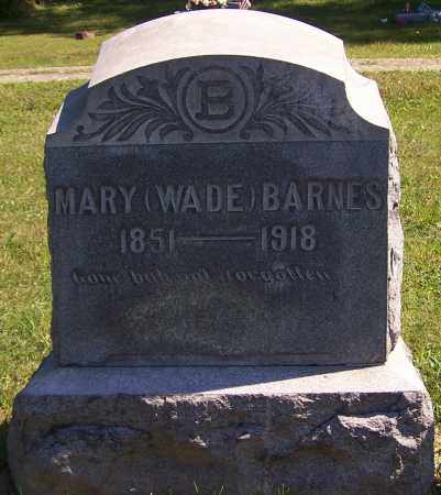 BARNES, MARY - Noble County, Ohio | MARY BARNES - Ohio Gravestone Photos