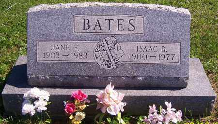 BATES, ISAAC B. - Noble County, Ohio | ISAAC B. BATES - Ohio Gravestone Photos