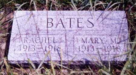 BATES, RACHEL - Noble County, Ohio | RACHEL BATES - Ohio Gravestone Photos