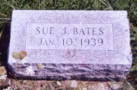BATES, SUE J. - Noble County, Ohio | SUE J. BATES - Ohio Gravestone Photos