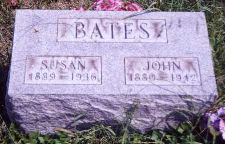 BATES, JOHN - Noble County, Ohio | JOHN BATES - Ohio Gravestone Photos