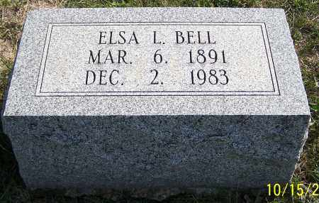 BELL, ELSA L. - Noble County, Ohio | ELSA L. BELL - Ohio Gravestone Photos