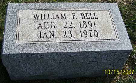 BELL, WILLIAM F. - Noble County, Ohio | WILLIAM F. BELL - Ohio Gravestone Photos