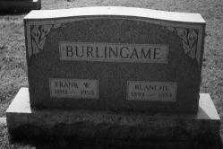 BURLINGAME, FRANK W. - Noble County, Ohio | FRANK W. BURLINGAME - Ohio Gravestone Photos