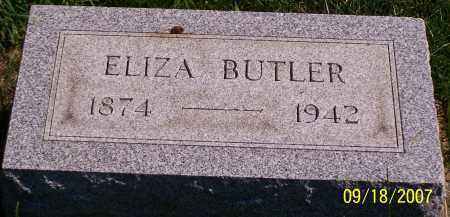 BUTLER, ELIZA - Noble County, Ohio | ELIZA BUTLER - Ohio Gravestone Photos