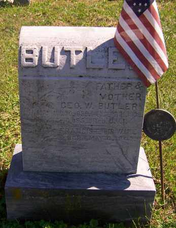BUTLER, GEO.W. - Noble County, Ohio | GEO.W. BUTLER - Ohio Gravestone Photos