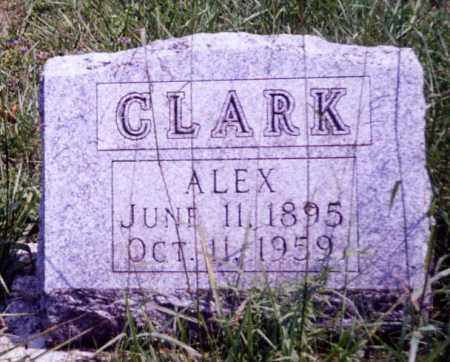 CLARK, ALEX - Noble County, Ohio | ALEX CLARK - Ohio Gravestone Photos