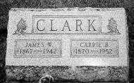 CLARK, CARRIE B. - Noble County, Ohio | CARRIE B. CLARK - Ohio Gravestone Photos
