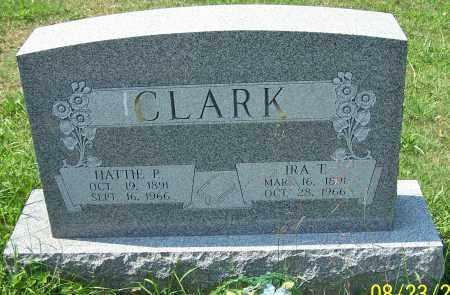 CLARK, IRA T. - Noble County, Ohio | IRA T. CLARK - Ohio Gravestone Photos
