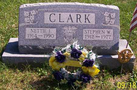 CLARK, NETTIE I. - Noble County, Ohio | NETTIE I. CLARK - Ohio Gravestone Photos