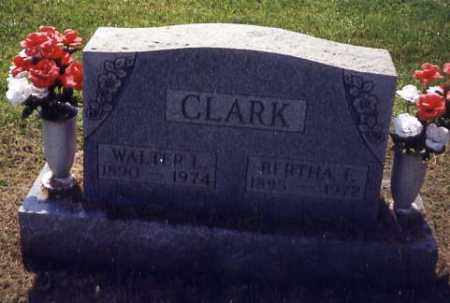CLARK, BERTHA F. - Noble County, Ohio | BERTHA F. CLARK - Ohio Gravestone Photos