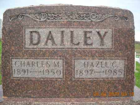 DAILEY, CHARLES AND HAZEL - Noble County, Ohio | CHARLES AND HAZEL DAILEY - Ohio Gravestone Photos