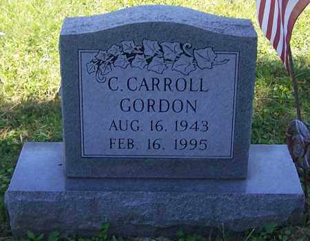 GORDON, C.CARROLL - Noble County, Ohio | C.CARROLL GORDON - Ohio Gravestone Photos