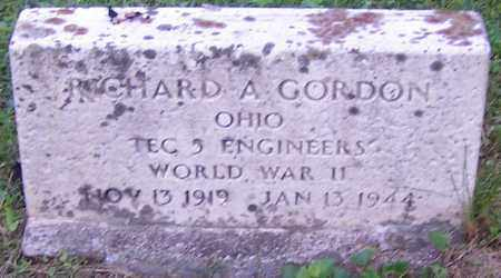 GORDON, RICHARD A. - Noble County, Ohio | RICHARD A. GORDON - Ohio Gravestone Photos