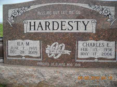 HARDESTY, CHARLES AND ILA - Noble County, Ohio | CHARLES AND ILA HARDESTY - Ohio Gravestone Photos