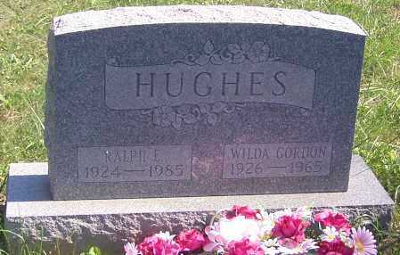 HUGHES, RALPH E. - Noble County, Ohio | RALPH E. HUGHES - Ohio Gravestone Photos