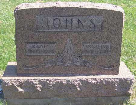 JOHNS, ANGELINE - Noble County, Ohio | ANGELINE JOHNS - Ohio Gravestone Photos