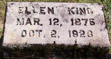 KING, ELLEN - Noble County, Ohio | ELLEN KING - Ohio Gravestone Photos