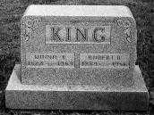 KING, MINNIE B. - Noble County, Ohio | MINNIE B. KING - Ohio Gravestone Photos