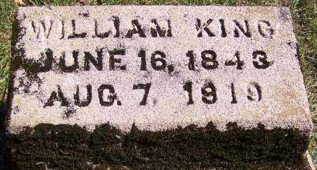 KING, WILLIAM - Noble County, Ohio | WILLIAM KING - Ohio Gravestone Photos
